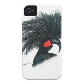 palm cockatoo parrot, tony fernandes iPhone 4 Case-Mate case