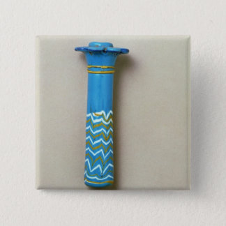 Palm column kohl flask, from Amarna 15 Cm Square Badge