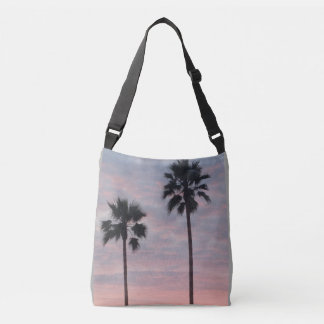 Palm Cross Body Tote Bag