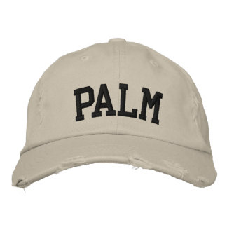 Palm Embroidered Hat Embroidered Hat