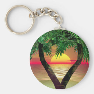 Palm Frame Key Ring