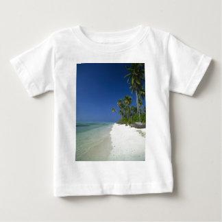 Palm Fringed Beach Baby T-Shirt
