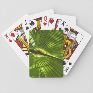 Palm Frond Playing Cards