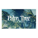 Palm Fronds Pack Of Standard Business Cards