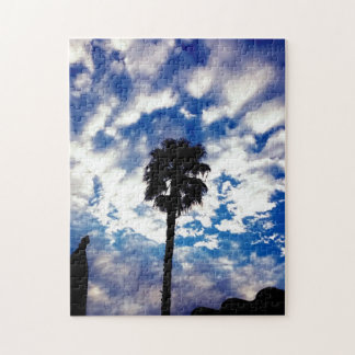 Palm in the Clouds Jigsaw Puzzle