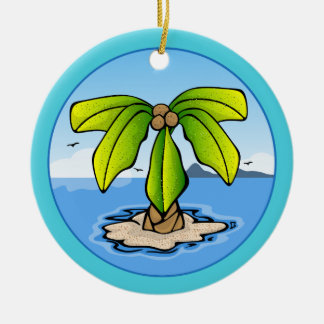 Palm Island Summer Ornament