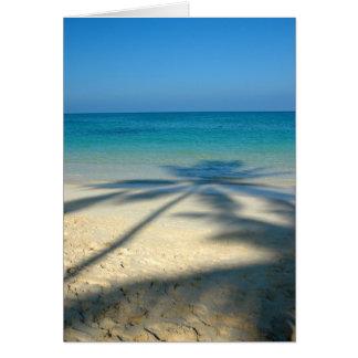 Palm, Lanikai Beach Card
