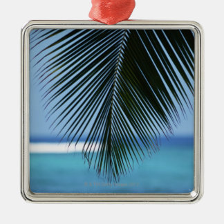 Palm leaf christmas ornament