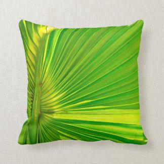 Palm leaf pillow/cushion throw pillow