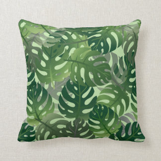 Palm Leaf Tropical Pattern Cushion