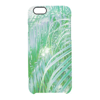 palm leaves clear iPhone 6/6S case
