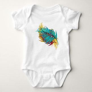 palm Leaves (fullcolor) Baby Bodysuit