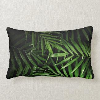Palm leaves lumbar cushion