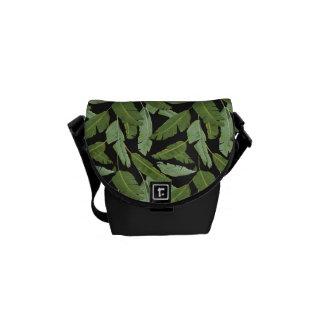 Palm Leaves Messenger Bag