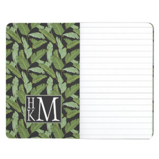 Palm Leaves   Monogram Journal
