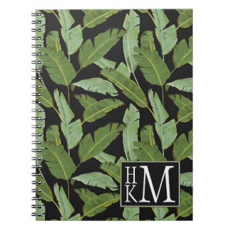 Palm Leaves | Monogram Notebook