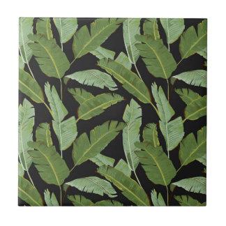 Palm Leaves Tile