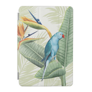 Palm Leaves With Blue Bird iPad Mini Cover