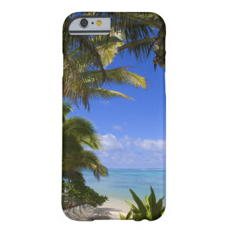Palm lined beach Cook Islands 2 Barely There iPhone 6 Case
