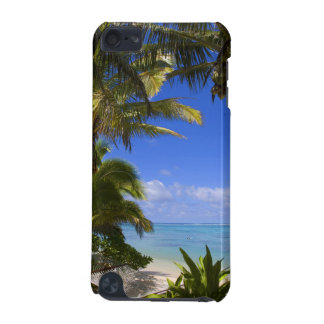 Palm lined beach Cook Islands 2 iPod Touch 5G Cover