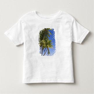 Palm lined beach Cook Islands 3 Toddler T-Shirt