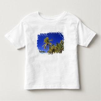 Palm lined beach Cook Islands 7 Toddler T-Shirt
