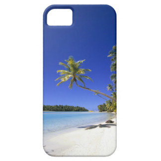 Palm lined beach Cook Islands Barely There iPhone 5 Case