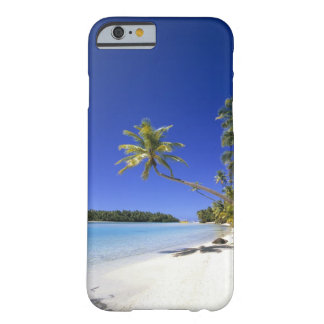 Palm lined beach Cook Islands Barely There iPhone 6 Case