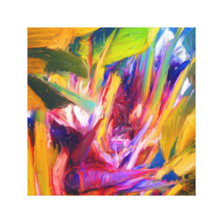 Palm Painting 03 Canvas Print
