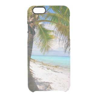 palm paradise clear iPhone 6/6S case