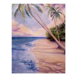 Palm Paradise Print