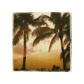 Palm Paradise Wood Wall Decor