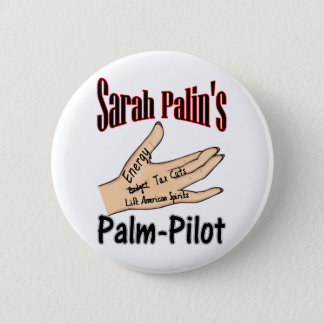 palm-pilot 6 cm round badge