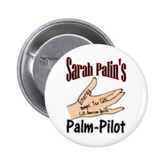 palm-pilot 6 cm round badge