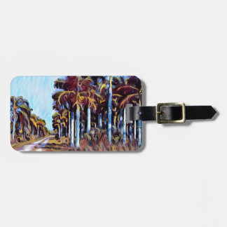 Palm Road Luggage Tag