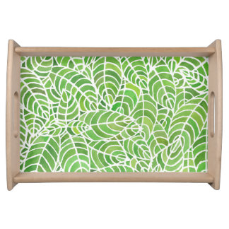 Palm Room Serving Tray