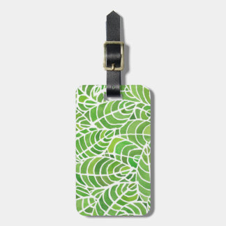 Palm Room Watercolour Luggage Tag