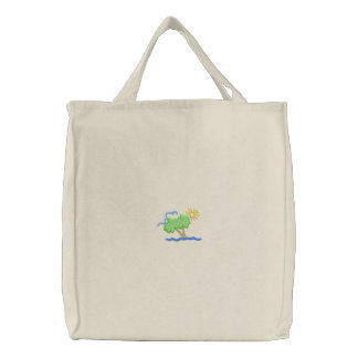 Palm Scene Canvas Bags