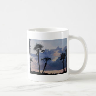 Palm Silhouettes Coffee Mugs
