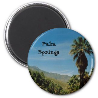 Palm Springs 6 Cm Round Magnet