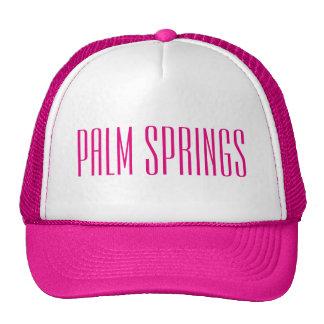 Palm Springs California Trucker Hat