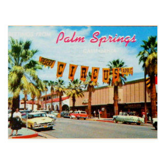 Palm Springs, California - Vintage Postcard
