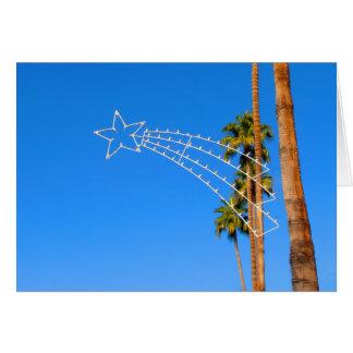 Palm Springs Holiday Lighting Xmas Card