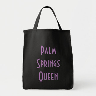 Palm Springs Queen Grocery Tote