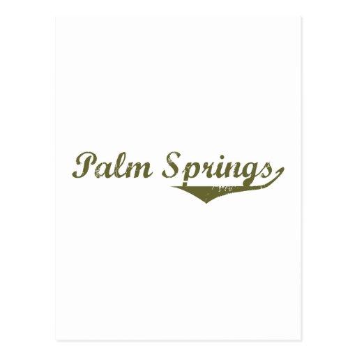 Palm Springs  Revolution t shirts Postcard