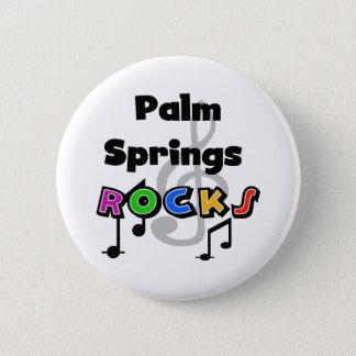 Palm Springs Rocks 6 Cm Round Badge