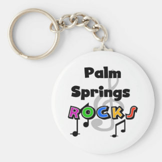 Palm Springs Rocks Key Ring