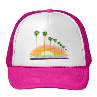 Palm Sunset Hat