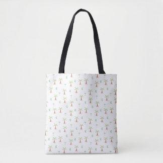 palm tre tote shopper beach bag