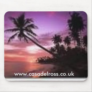 palm tree3, www.casadelross.co.uk mouse pad